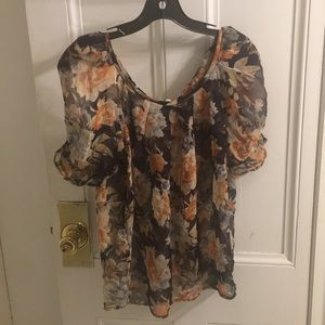 Floral Joie top